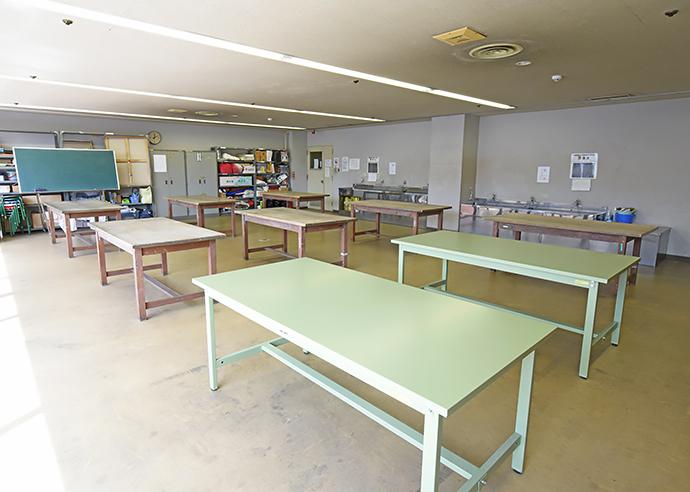 造形実習室 画像